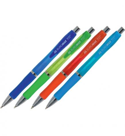 Ручка шариковая автоматическая 0,7 мм, Buromax BM.8227
