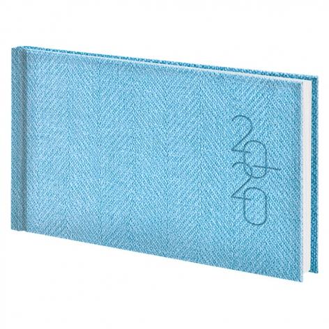 Еженедельник карманный датированный BRUNNEN 2020 Tweed голубой 73-755 32 33
