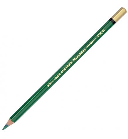 Карандаш акварельный MONDELUZ цвет emerald green Koh-i-noor 3720060002KS