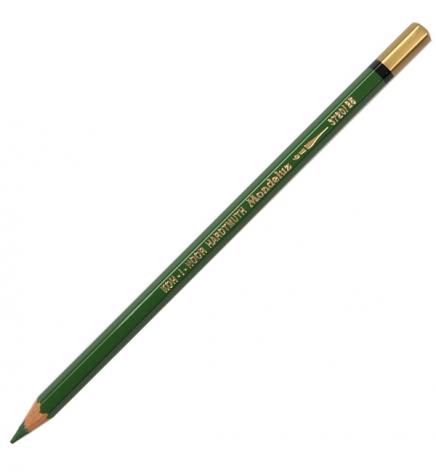 Карандаш акварельный MONDELUZ цвет meadow green Koh-i-noor 3720025002KS