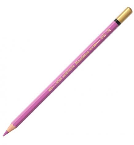Карандаш акварельный MONDELUZ цвет reddish violet 2 Koh-i-noor 3720178002KS