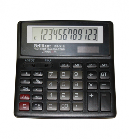 Калькулятор 12р. Brilliant  BS-312