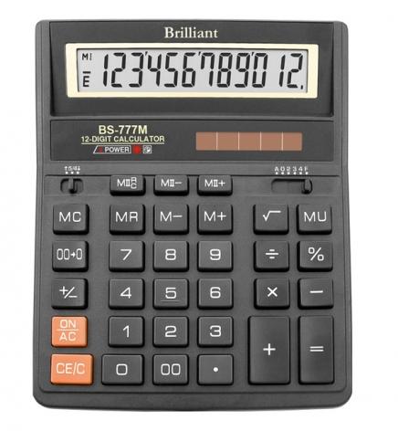 Калькулятор 12р. Brilliant  BS-777M