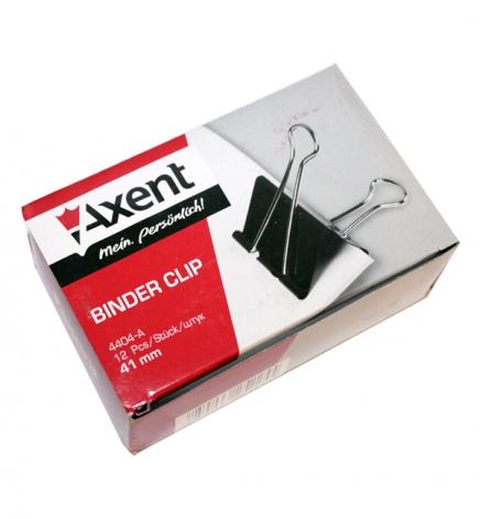 Биндеры 41 мм 12 штук в упаковке Axent 4404-A