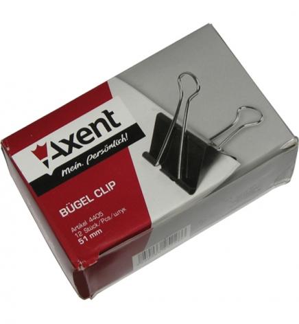 Биндеры 51 мм 12 штук в упаковке Axent 4405-A