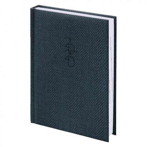 Ежедневник карманный датированный BRUNNEN 2020 Tweed серый, артикул 73-736 31 80 код 43193
