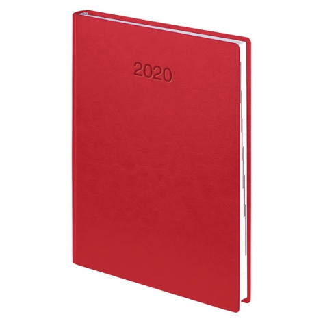 Ежедневник датированный BRUNNEN 2020 Стандарт Flex, коралловый 73-795 70 24