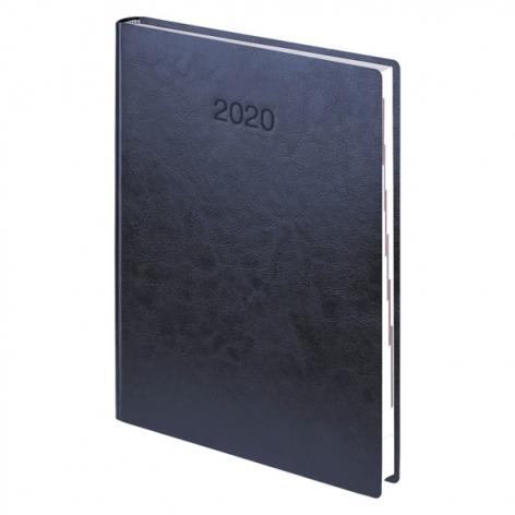 Ежедневник датированный BRUNNEN 2020 Стандарт Flex, синий, артикул 73-795 70 30 код 43061