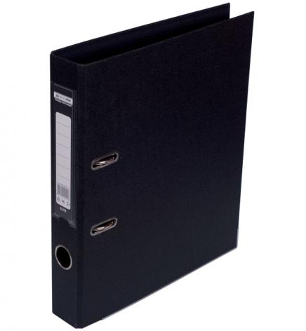 Папка-регистратор А4 5 см, двухсторонний, PVC, Buromax BM.3002-01 черный
