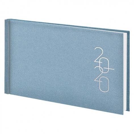 Еженедельник карманный датированный BRUNNEN 2020 Glam голубой 73-755 30 33