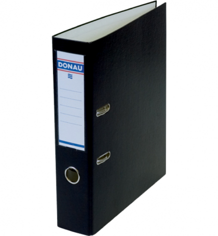 Папка-регистратор Master А4 7 см, односторонний, Donau 3970001M-01 черный