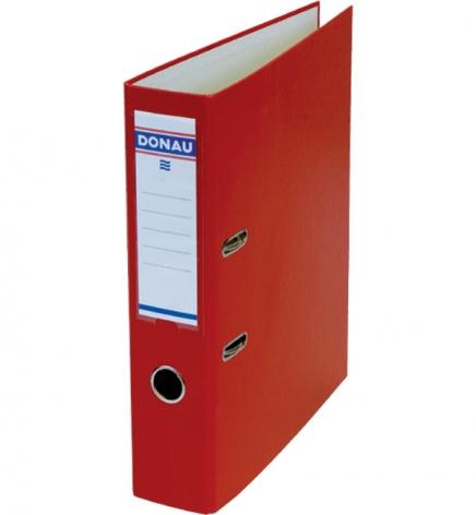 Папка-регистратор Master А4 7 см, односторонний, Donau 3970001M-04 красный