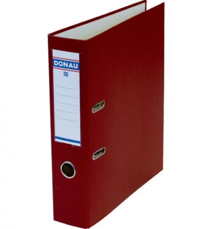 Папка-регистратор Master А4 7 см, односторонний, Donau 3970001M-05 бордовый