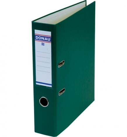 Папка-регистратор Master А4 7 см, односторонний, Donau 3970001M-06 зеленый