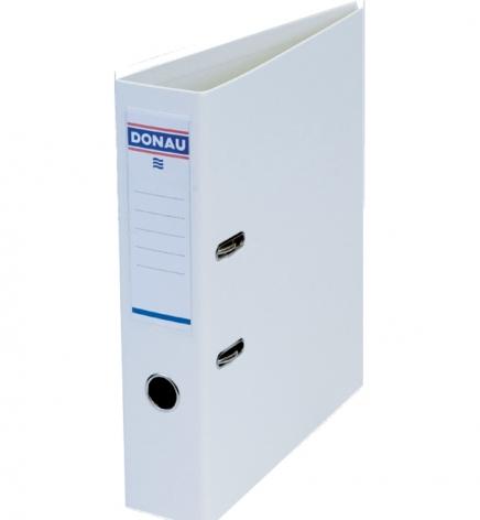 Папка-регистратор Master А4 7 см, односторонний, Donau 3970001M-09 белый