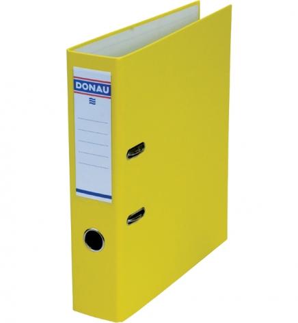 Папка-регистратор Master А4 7 см, односторонний, Donau 3970001M-11 желтый
