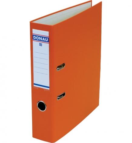 Папка-регистратор Master А4 7 см, односторонний, Donau 3970001M-12 оранжевый