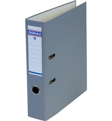 Папка-регистратор Master А4 7 см, односторонний, Donau 3970001M-13 серый