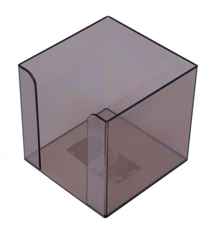 Бокс для бумаги 9 х 9 х 9 см Арника 83031 дымчатый
