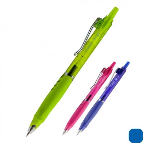 Ручка гелевая автоматическая  Ergo & Quick dry ink, синяя, AXENT AG1080-02-A