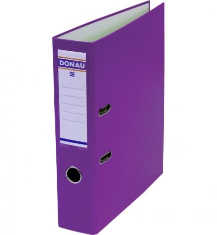 Папка-регистратор Master А4 7 см, односторонний, Donau 3970001M-23 фиолетовый