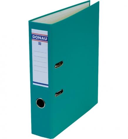 Папка-регистратор Master А4 7 см, односторонний, Donau 3970001M-24 бирюзовый