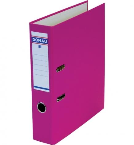 Папка-регистратор Master А4 7 см, односторонний, Donau 3970001M-30 розовый