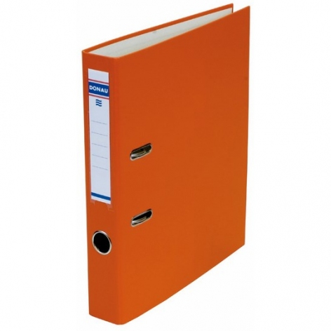 Папка-регистратор Master А4 5 см, односторонний, Donau 3950001M-12 оранжевый