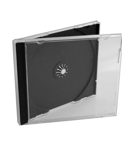 Бокс CD Jewel с черным треем