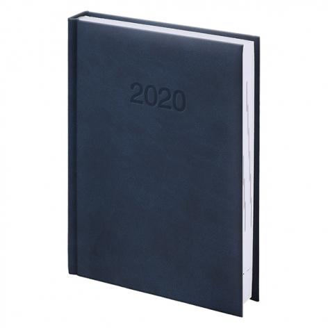 Ежедневник карманный датированный BRUNNEN 2020 Torino, синий 73-736 38 30