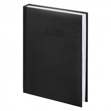 Ежедневник карманный датированный BRUNNEN 2020 Torino, черный 73-736 38 90