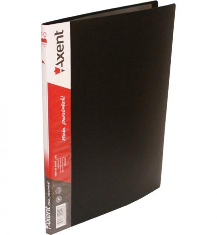 Дисплей-книга на 10 файлов, AXENT 1010-01-А черный