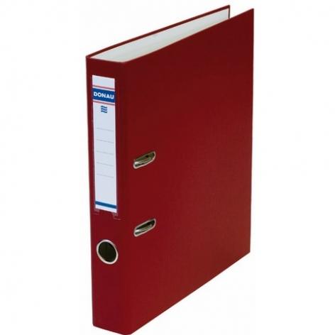 Папка-регистратор Master А4 5 см, односторонний, Donau 3950001M-05 бордовый