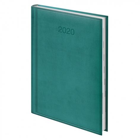Ежедневник датированный BRUNNEN 2020 Стандарт Torino, темно-бирюзовый, артикул 73-795 38 54 код 43178
