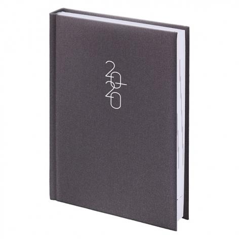 Ежедневник карманный датированный BRUNNEN 2020 Glam серый 73-736 30 80