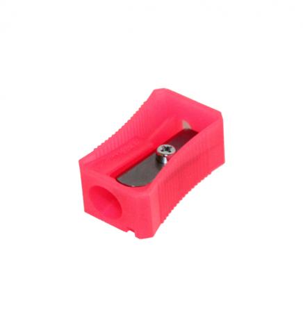 Точилка без контейнера флуоресцентная Ice Colors Faber-Castell 100 LVDI розовый