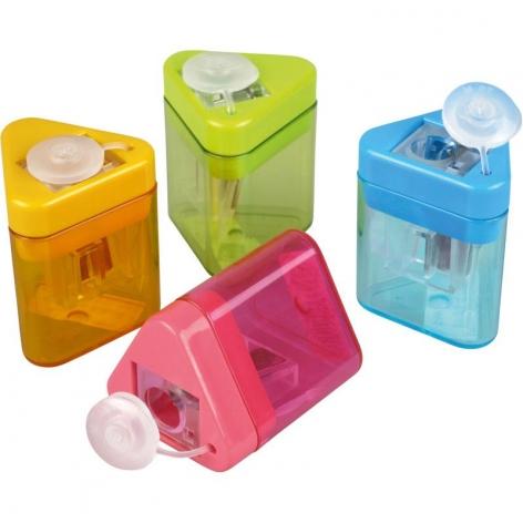 Точилка с контейнером  KUM  mini-tri k1 pop