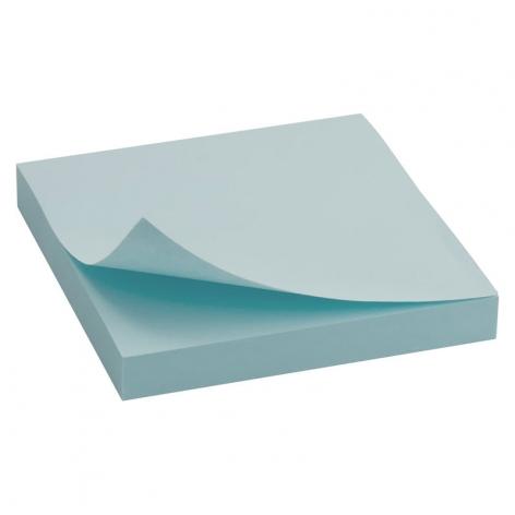 Блок бумаги с липким слоем 75x75 мм, 100 листов  Delta by Axent D3314-04 пастельный синий