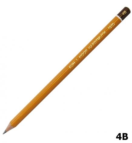 Карандаш графитный, мягкий 4B, Koh-I-Noor 1500.4B