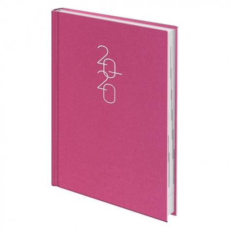 Ежедневник датированный BRUNNEN 2020 Стандарт Glam розовый 73-795 30 22