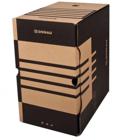 Бокс для архивации документов, 200 мм Donau 7663401PL-02 крафт