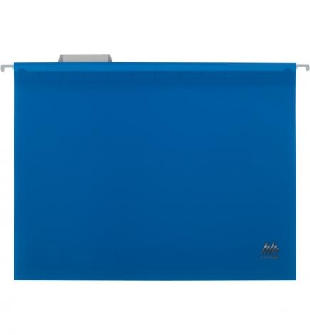 Файл пластиковый А4 (320 мм х 240 мм) подвесной с индексом для картотеки Buromax BM.3360-02 синий