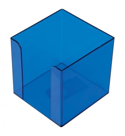 Бокс для бумаги 9 х 9 х 9 см Арника 83035 голубой