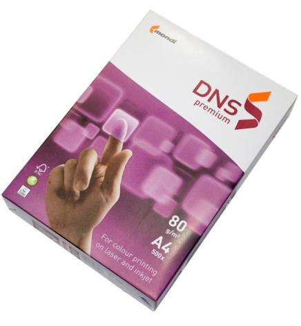 Бумага DNS Premium А4 80г/м2, 500л