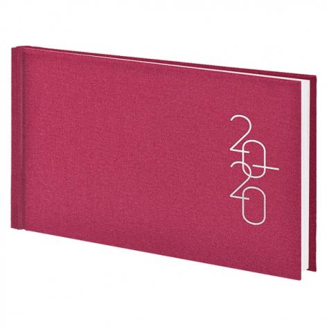 Еженедельник карманный датированный BRUNNEN 2020 Glam розовый, артикул 73-755 30 22 код 43219