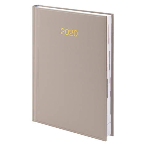 Ежедневник датированный BRUNNEN 2020 Стандарт Miradur, кремовый, артикул 73-795 60 11 код 42982