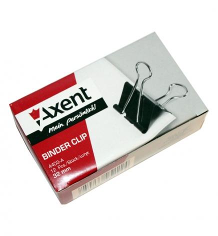 Биндеры 32 мм 12 штук в упаковке Axent 4403-A
