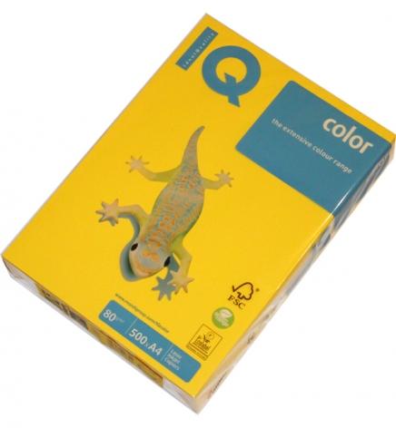 Бумага IQ Intensive A4 80 г/м2, 500 л. Mustard (горчичный) IG50