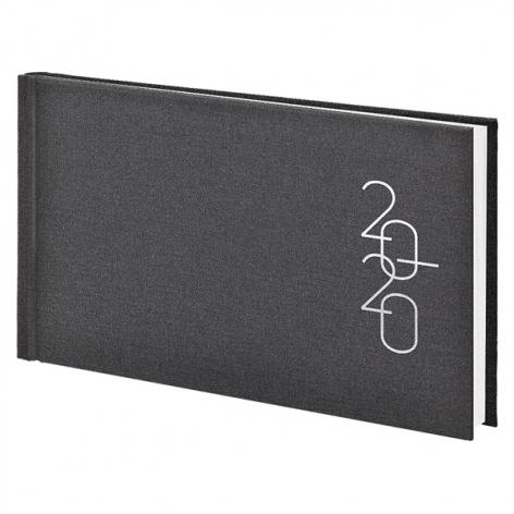 Еженедельник карманный датированный BRUNNEN 2020 Glam серый, артикул 73-755 30 80 код 43214