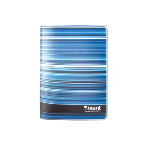 Записная книга Stripes A6, 80 листов, кремовый внутренний блок в клетку Axent 8001-15-A